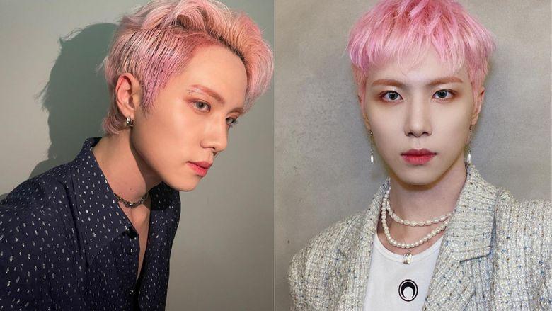 10 Male K-Pop Idols In Light Coloured Lenses Vs. Dark Coloured Lenses