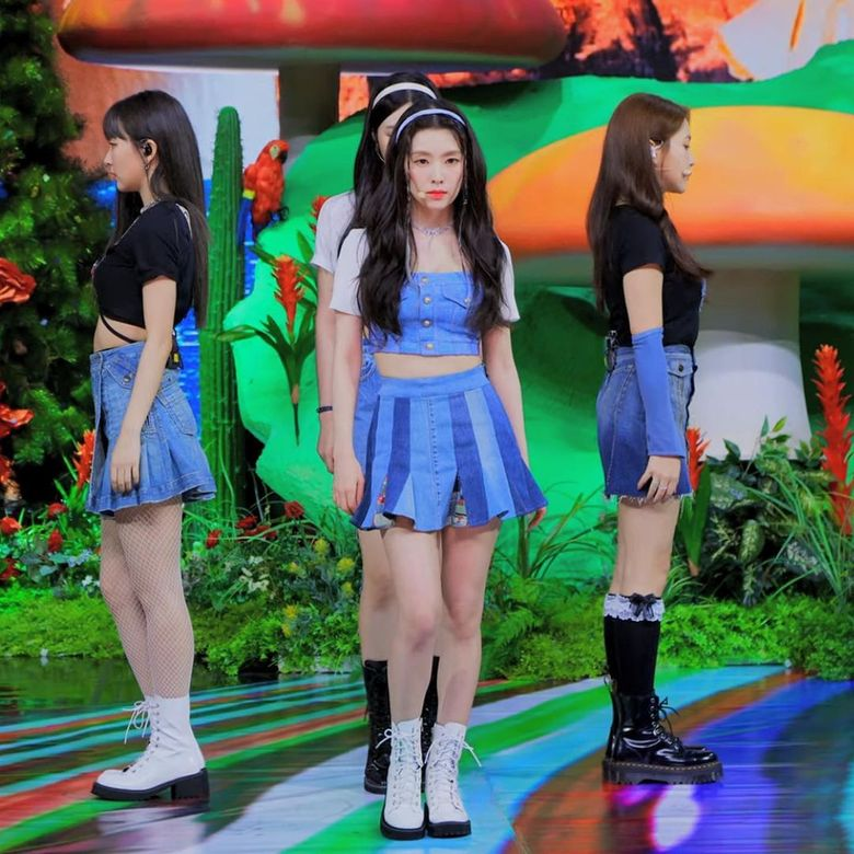 """Sustainable Fashion Is The Newest Trend In K-Pop: Check Out The Brand That Made Red Velvet's Dresses For """"Queendom"""""""