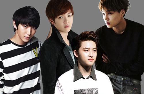 idol school uniform, red velvet exo, irene exo, winner kim so hyun, got7 smart