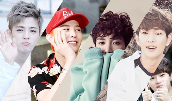 idol leader, male idol leader, gd, onew, lee teuk, vixx n, fashionista, gd 2015, lee teuk 2015, onew 2015, kpopmap