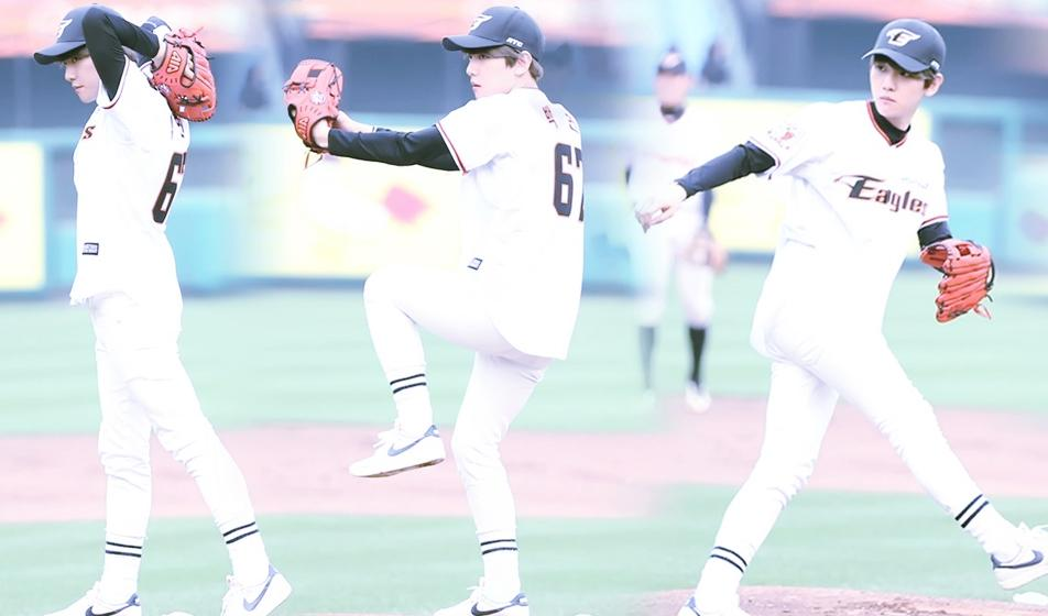 BAEKHYUN FIRST PITCH, IDOL FIRST PITCH, SNSD FIRST PITCH