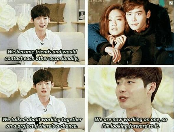 Lee jong suk dating life